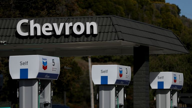 Chevron would join the elite of listed oil majors if it was to add Anadarko