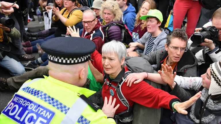 So far almost 300 people have been arrested in London