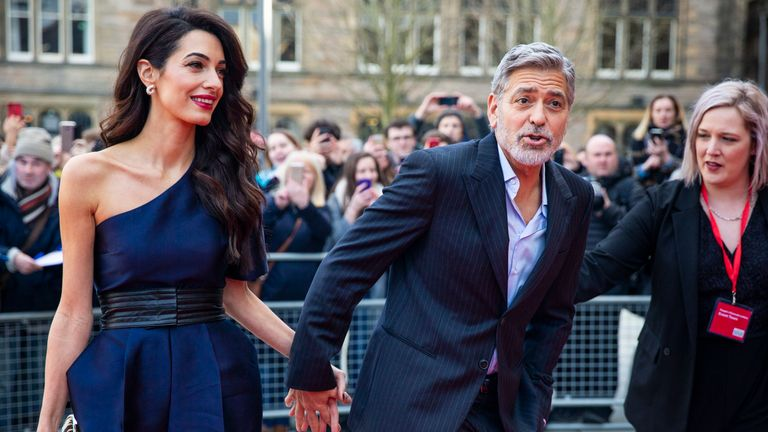 George Clooney encouraged people to boycott the hotels