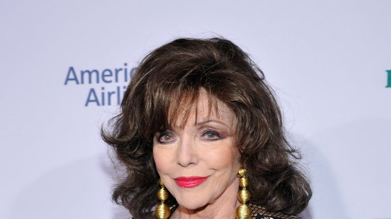 Dame Joan said she suffered smoke inhalation