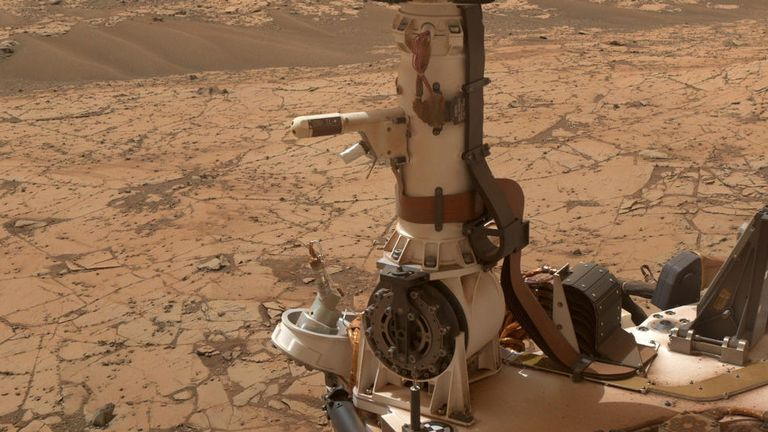 The gas was detected by a NASA rover. Pic: NASA