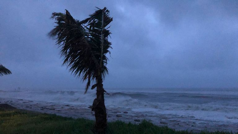 Cyclone Kenneth has made landfall in Mozambique