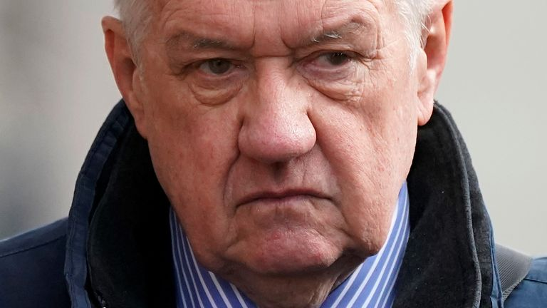 David Duckenfield denied the gross negligence manslaughter of 95 fans