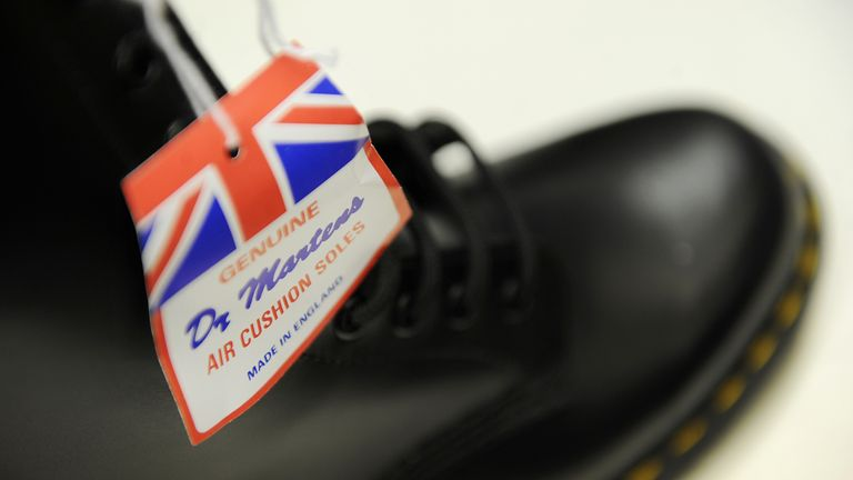 Dr Martens' roots can be traced back to 1901 in Wollaston