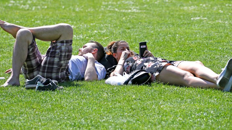 Easter Monday is on track to be the best day of the weekend for weather