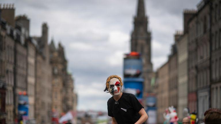 The Edinburgh festival draws millions of people every year