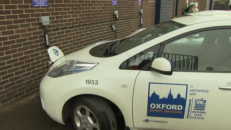The project will power 4500 charging points in the city