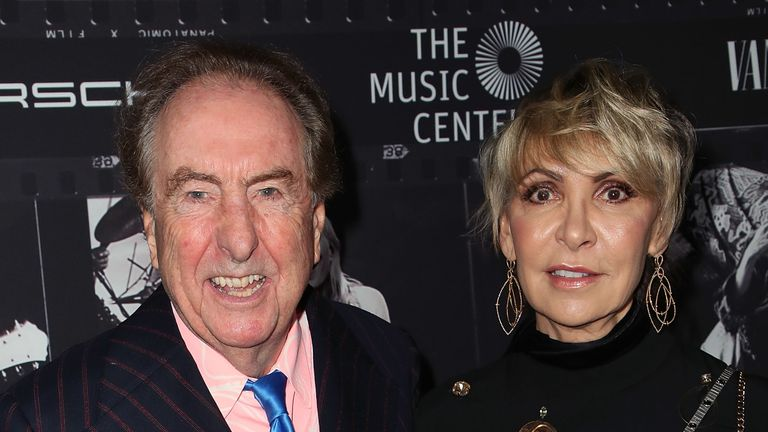 Eric Idle shares the home with wife Tania Kosevich