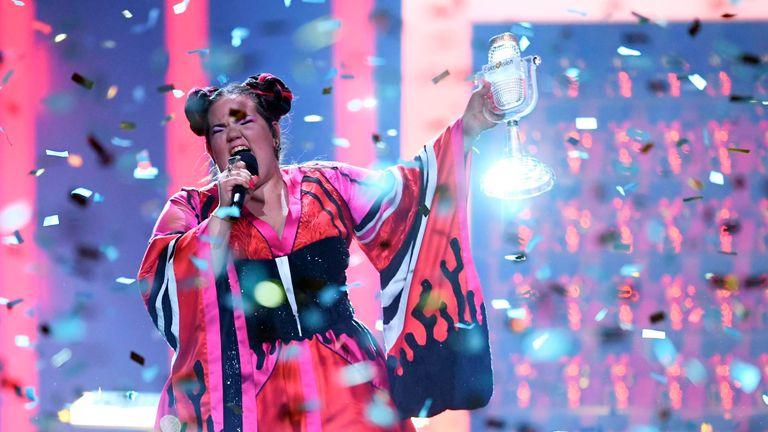 Israeli singer Netta won the 2018 contest in Lisbon
