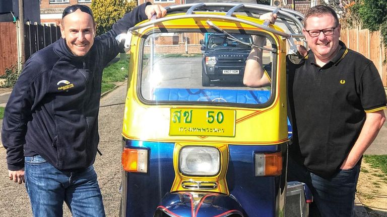 Man who bought tuk tuk after 'boozy night' aiming to break speed record