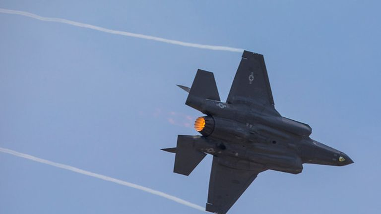 The F-35 can hit Mach 1.6 or over 1,200mph, File pic: Lockheed Martin