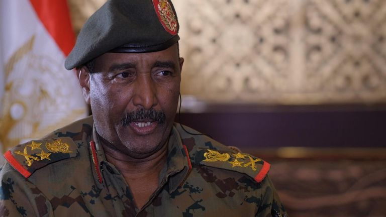 Sudan military chief: We'll hand over power when there's 'consensus'
