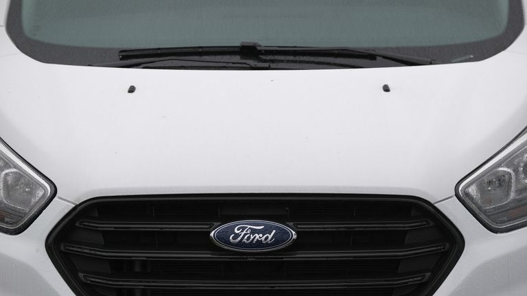 Ford designs its vans and produces engines for them in the UK