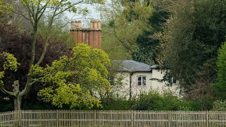 Frogmore Cottage in Windsor, the new home of Prince Harry, Duke of Sussex and Meghan, Duchess of Sussex