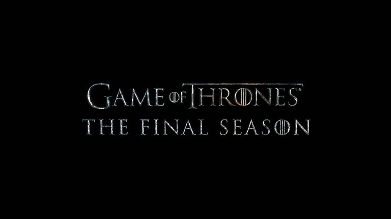 Trailer for the final season of Game of Thrones