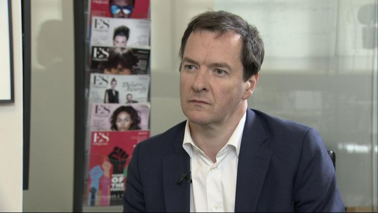 George Osborne 'not optimistic' for softer Brexit as cross-party talks continue