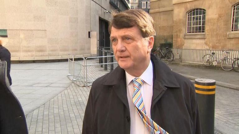 Gerard Batten, leader of UKIP