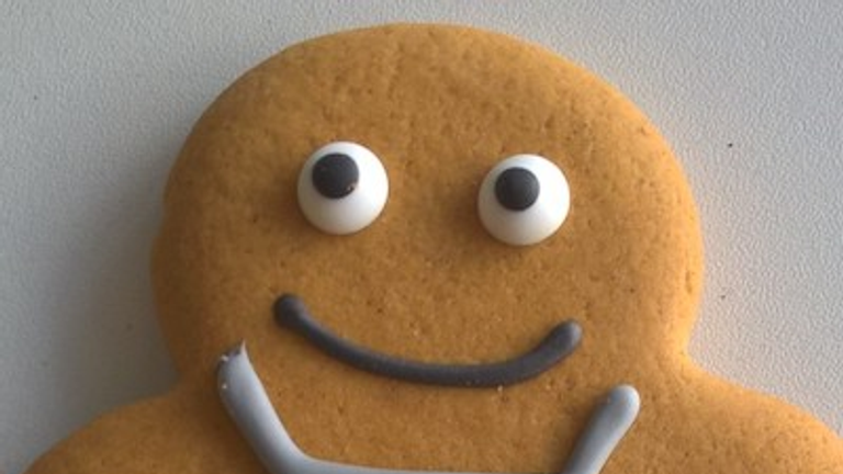 Co-op has cooked up a gender-neutral 'gingerbread person'. Pic: Co-op Food