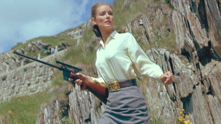 Tania Mallet: Flipboard: Bond Girl Tania Mallet, Who Played Tilly