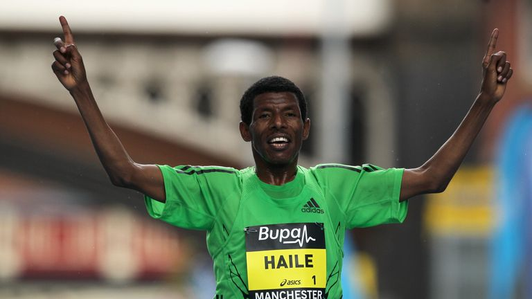 Haile Gebrselassie and Sir Mo Farah had previously been friends