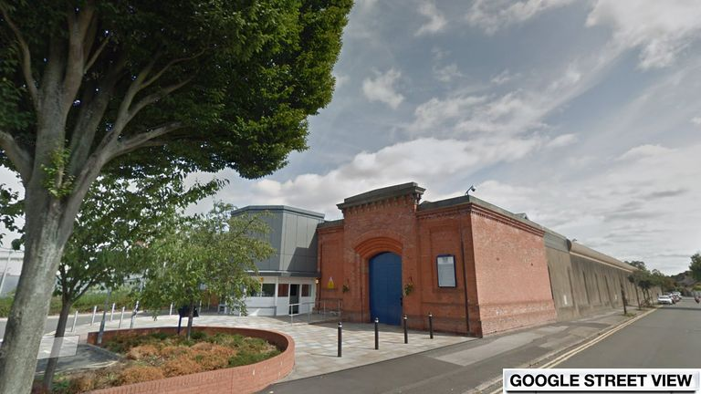 HMP Nottingham. Pic: Google