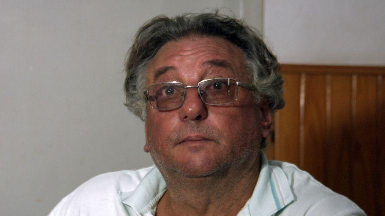 Horacio Sala, father of late Argentine footballer Emiliano Sala