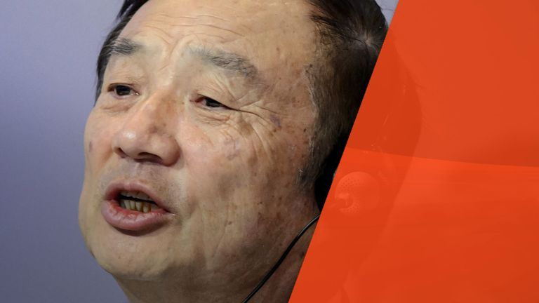 Huawei's founder Ren Zhengfei says his firm does not spy for China