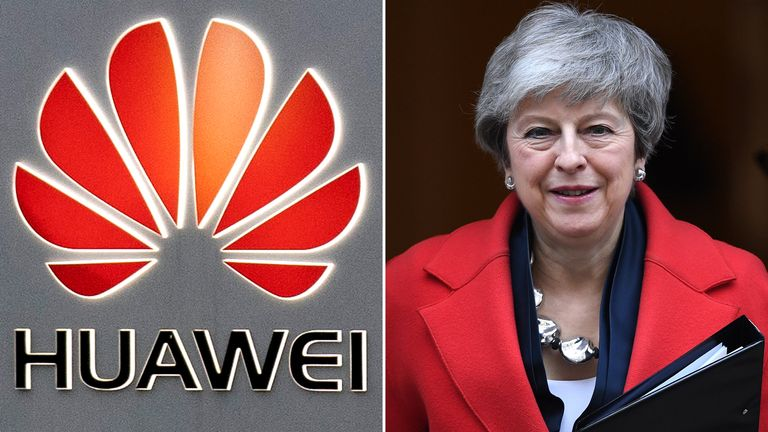 A committee of MPs chaired by the prime minister has given Huawei the go-ahead