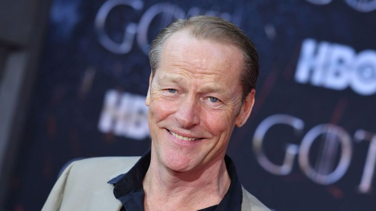 Iain Glen, who plays Ser Jorah Mormont