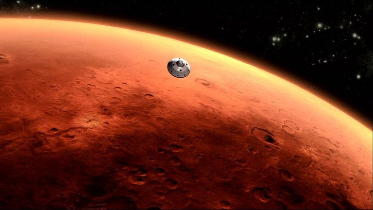 NASA's robotic probe InSight has detected and measured what scientists believe to be a marsquake. Pic: NASA/JPL-Caltech
