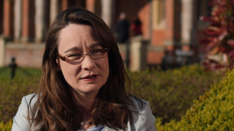 Dr Katy Hayyard from Queen's University Belfast said no deal would mean a border situation