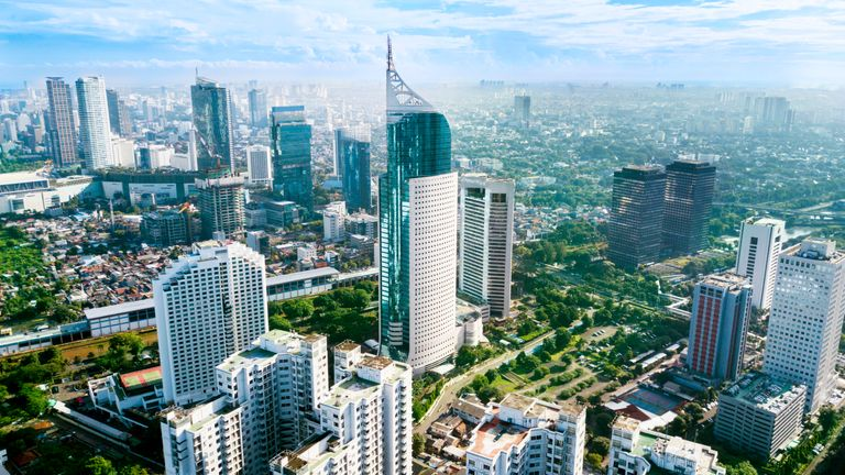 Jakarta is one of Asia's biggest cities