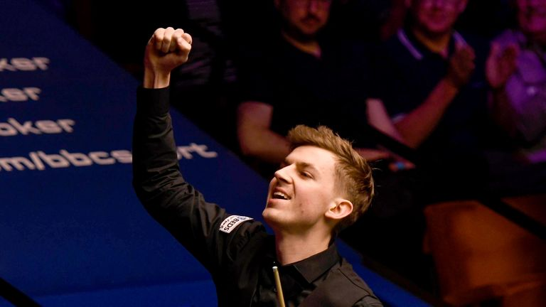 James Cahill defeated Ronnie O'Sullivan in a shock result