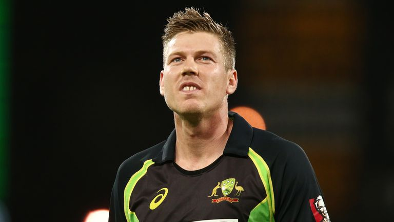James Faulkner performing for Australia