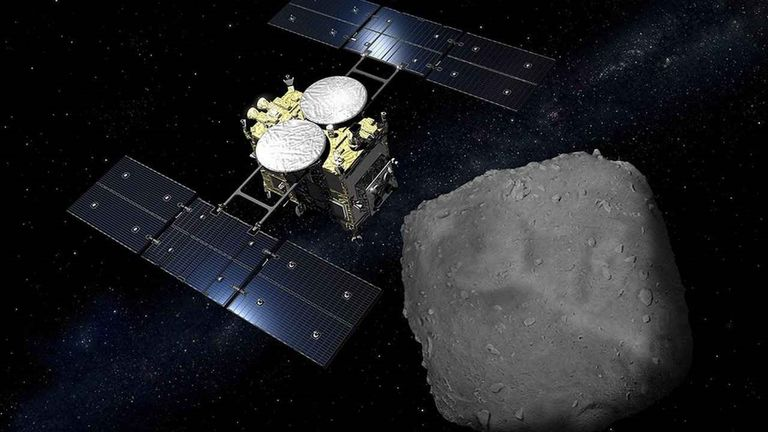 Japanese spacecraft Hayabusa2 deployed explosives to asteroid Ryugu