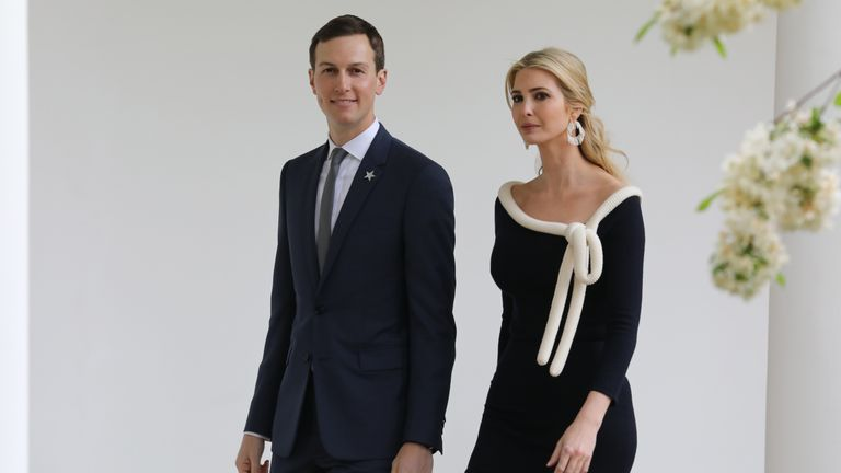 Jared Kushner amd Ivanka Trump