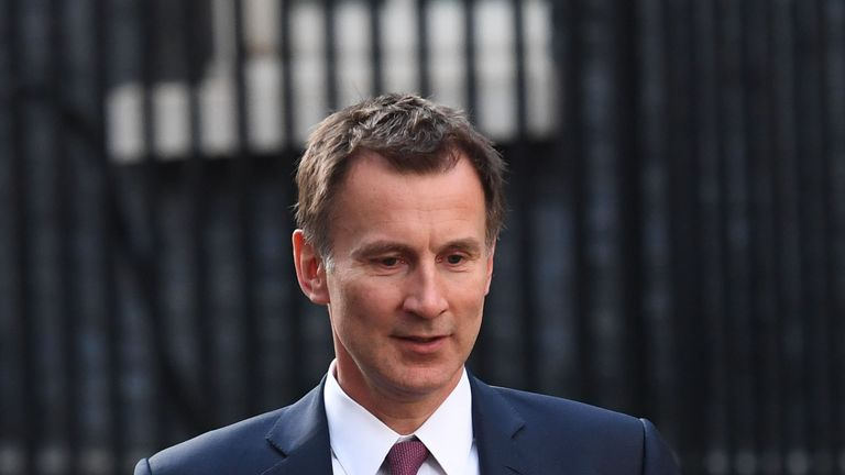 Jeremy Hunt: Military spending must increase 'decisively'