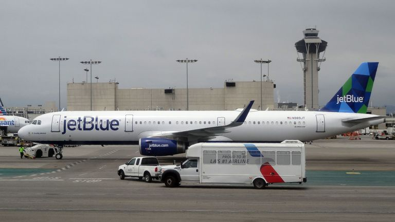 JetBlue's Airbus aircraft