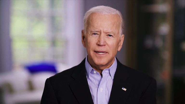 Joe Biden announces his intention to enter the race for the White House in 2020