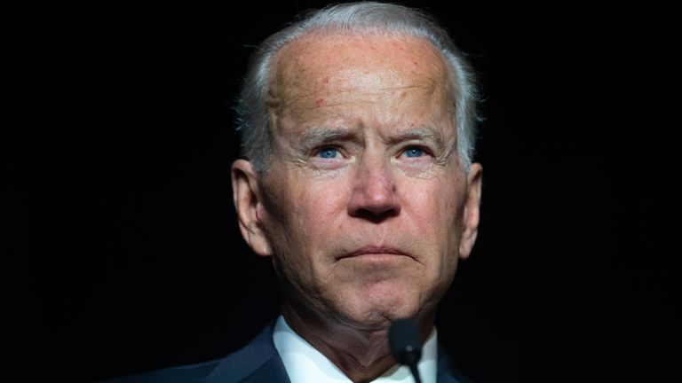 Former US vice president Joe Biden is facing accusations of inappropriate behaviour toward women
