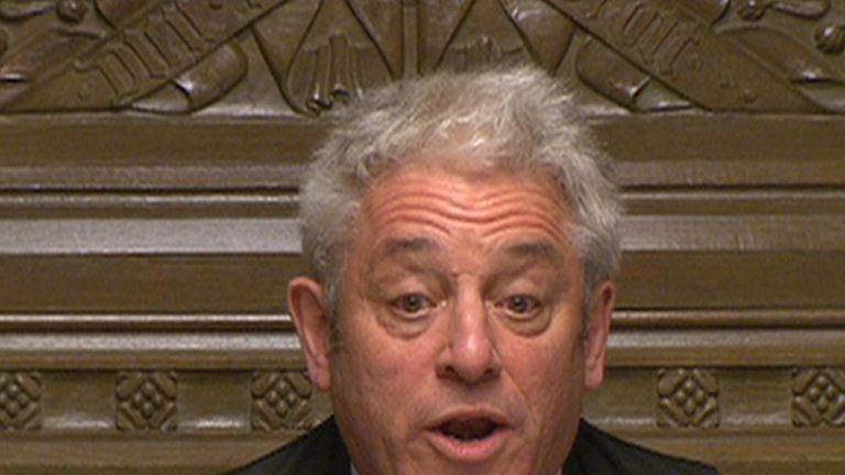 The noes have it again on Brexit as Speaker John Bercow announces results of indicative votes