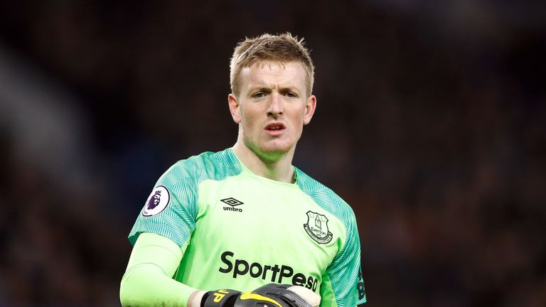 Everton are investigating the alleged incident involving Jordan Pickford