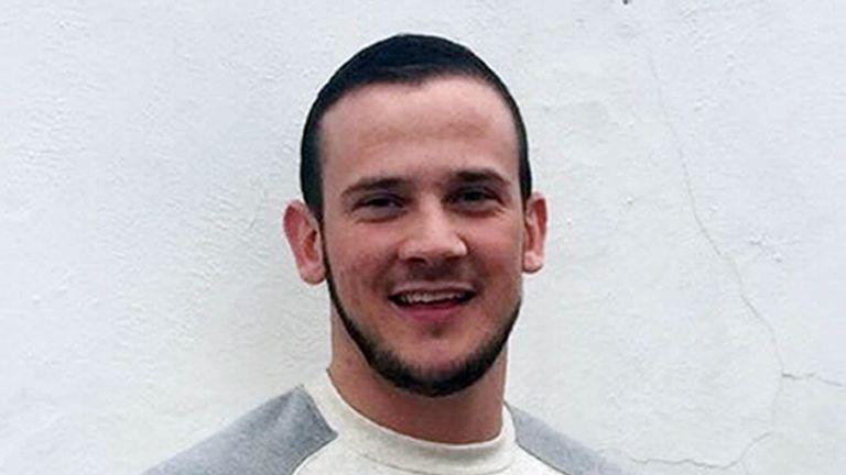 Josh Hanson was killed in London in October 2015