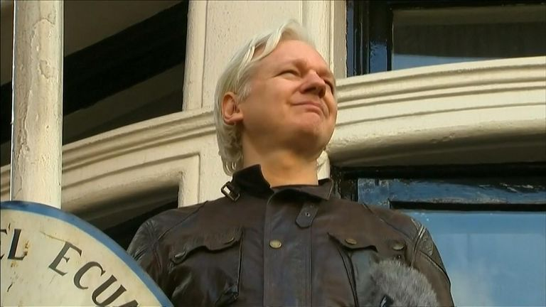 WikiLeaks founder Julian Assange has been arrested at the Ecuadorian embassy in central London, police have said.