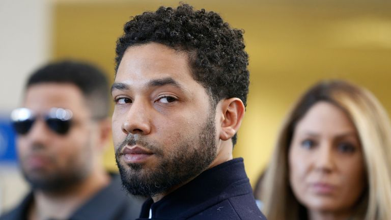 Jussie Smollett alleged he was the victim of a homophobic and racist attack