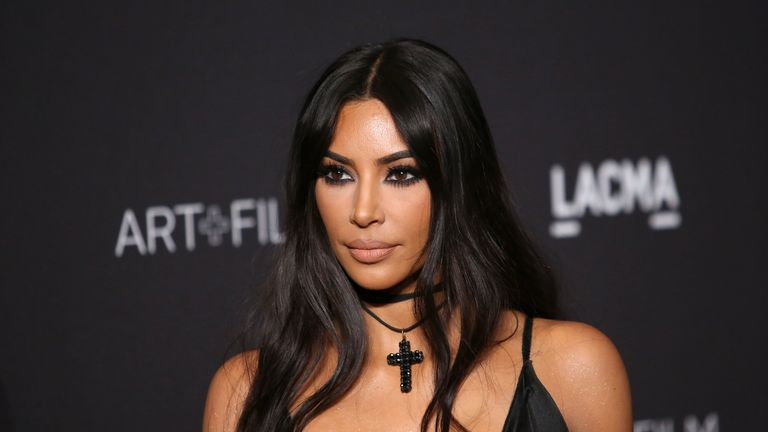 Kim Kardashian West attends the 2018 LACMA Art + Film Gala at LACMA on November 03, 2018 in Los Angeles, California