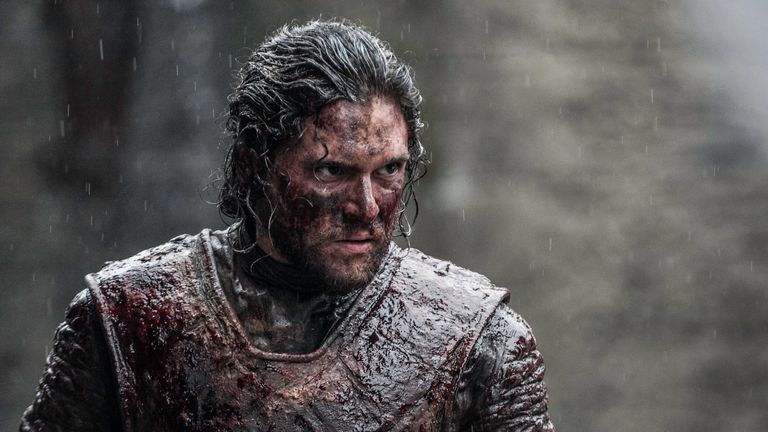 Kit Harington as Jon Snow. Pic: HBO/Sky Atlantic
