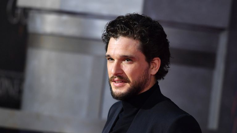 Kit Harrington, who plays Jon Snow