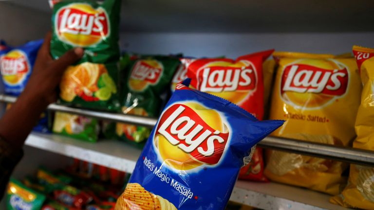 Lay's crisps in India