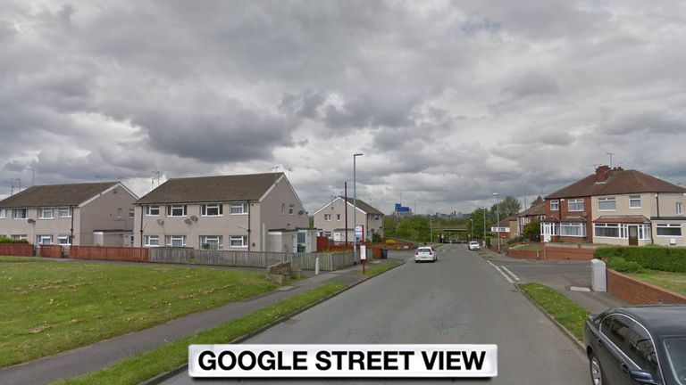 The incident happened in Old Run Road, Hunslet
